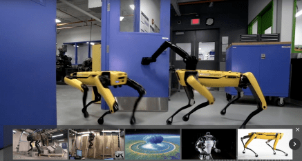 Les Robots impressionnants de Boston Dynamics