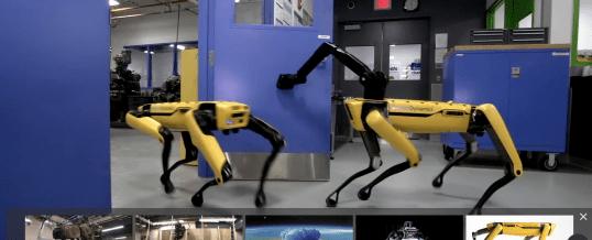 Les Robots impressionnants de Boston Dynamics