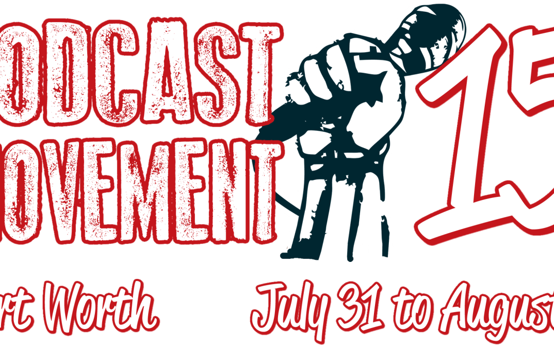 I'm Going to Podcast Movement!