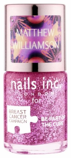 Nails Inc pinkie pink by Matthew Williamson, £11 - £1 donation