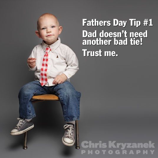 Fathers Day gift tips no neckties photo