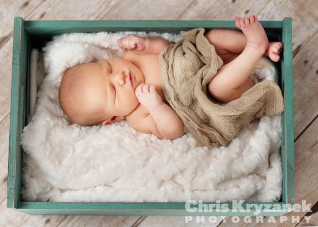 newborn session photography Chris Kryzanek