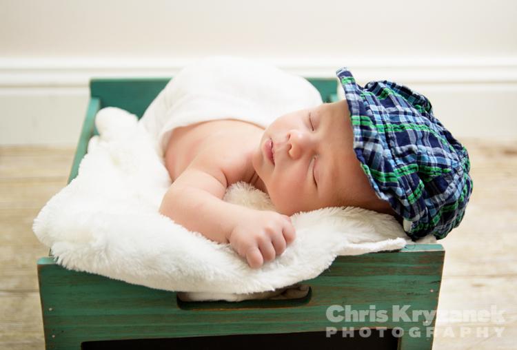 Chris Kryzanek Photography - newborn baby boy