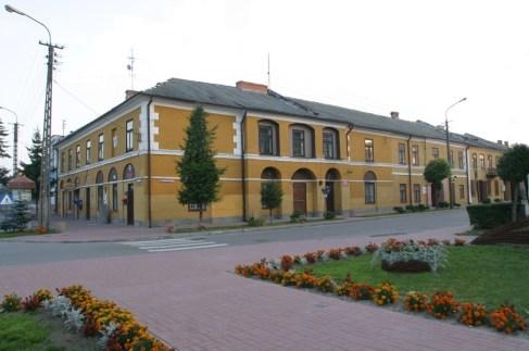 Budynek ratusza – obecnie siedziba władz gminy (fot. arch. Gminy Solec nad Wisłą)