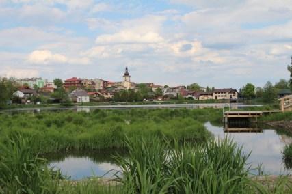 Panorama Lipska i zalewu (fot. K. Furmanek)