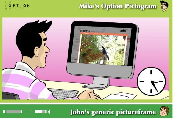 Option Pictogram