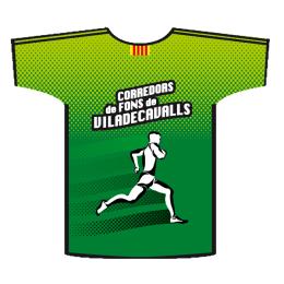 Camiseta running Corredors de fons de Viladecavalls - Detrás