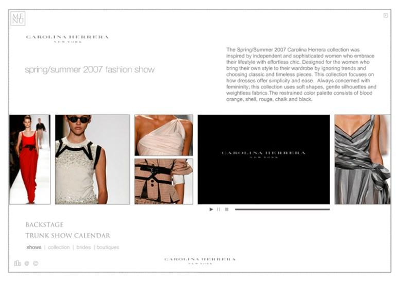 Carolina Herrera Web - Fashion