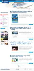 Página de Sala de Prensa