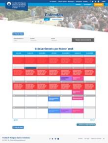 Página de eventos