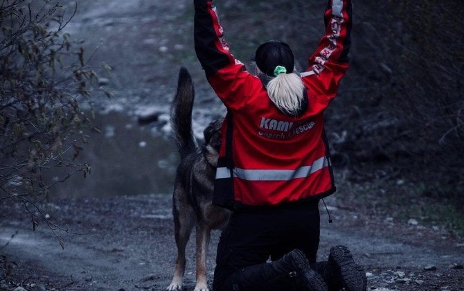 Search and rescue volunteer finds training her own search dog a rewarding experience
