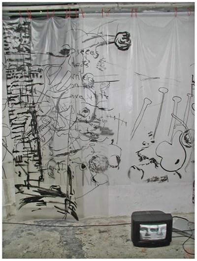 alles was da ist gehört dazu (HELP ME THINK), 15. 12. 2007, Wolfgang Kschwendt, exhibitionview 3