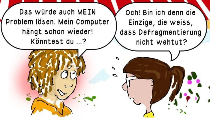 Wolfgang Kschwendt - Illustration - Comic-Serie für AMS
