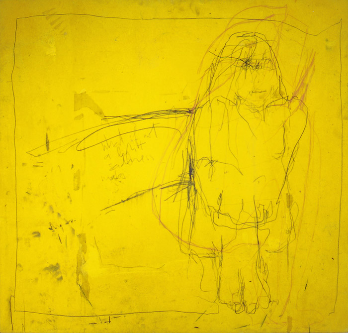 what if not a light sadness makes - 81 x 77 cm - (private property)
