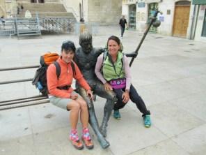 Statue near Burgos Cathedral