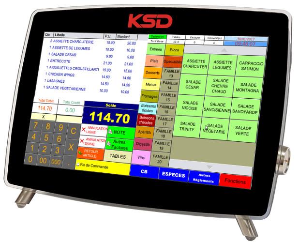 Caisse enregistreuse KSD LMC 10W