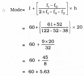 KSEEB SSLC Class 10 Maths Solutions Chapter 13 Statistics Ex 13.2 Q 2.1