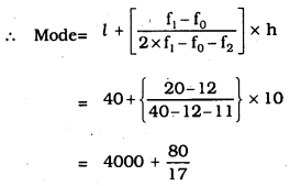 KSEEB SSLC Class 10 Maths Solutions Chapter 13 Statistics Ex 13.2 Q 6.1