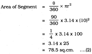 KSEEB SSLC Class 10 Maths Solutions Chapter 5 Areas Related to Circles Ex 5.2 19