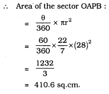 KSEEB SSLC Class 10 Maths Solutions Chapter 5 Areas Related to Circles Ex 5.2 30