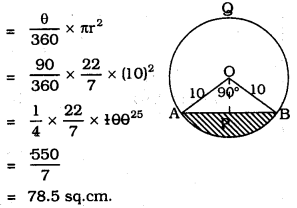 KSEEB SSLC Class 10 Maths Solutions Chapter 5 Areas Related to Circles Ex 5.2 5