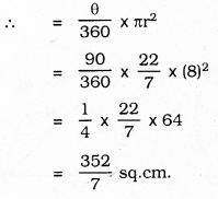 KSEEB SSLC Class 10 Maths Solutions Chapter 5 Areas Related to Circles Ex 5.3 40