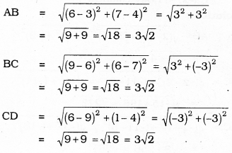 KSEEB SSLC Class 10 Maths Solutions Chapter 7 Coordinate Geometry Ex 7.1 9