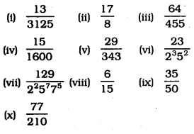 KSEEB SSLC Class 10 Maths Solutions Chapter 8 Real Numbers Ex 8.4 1