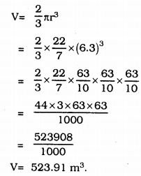 KSSEB Solutions for Class 9 Maths Chapter 13 Surface Areas and Volumes Ex 13.8 12