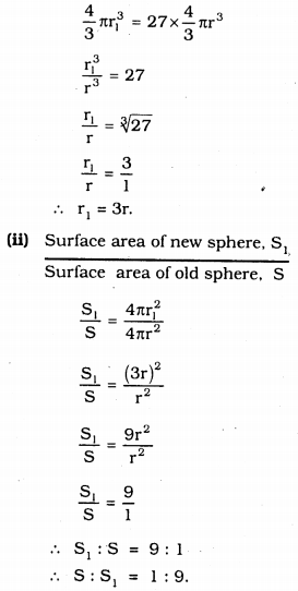 KSSEB Solutions for Class 9 Maths Chapter 13 Surface Areas and Volumes Ex 13.8 13