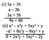 KSEEB Solutions for Class 8 Maths Chapter 2 Algebraic Expressions Ex. 2.2 2
