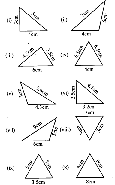 KSEEB Solutions for Class 8 Maths Chapter 6 Theorems on Triangles Ex 6.1 2