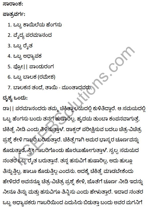 रिहर्सल Summary in Kannada 1