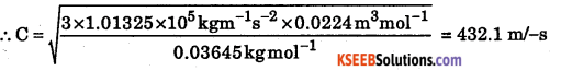 1st PUC Chemistry Question Bank Chapter 5 States of Matter - 48