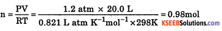 1st PUC Chemistry Question Bank Chapter 5 States of Matter - 59