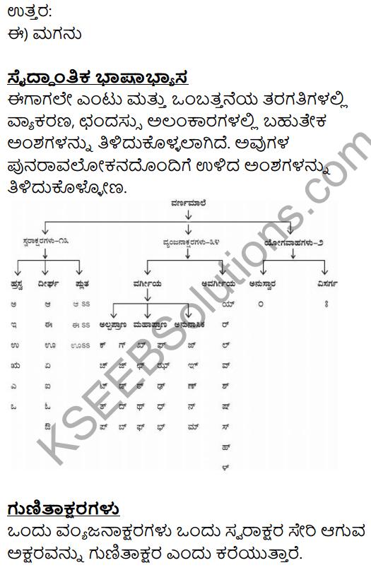 Siri Kannada Text Book Class 10 Solutions Gadya Chapter 1 Yuddha 15