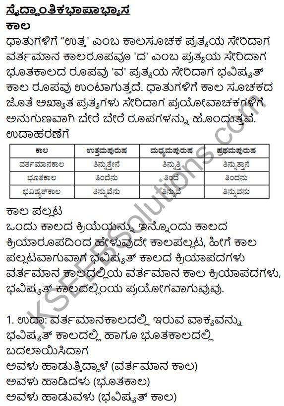 Siri Kannada Text Book Class 10 Solutions Gadya Chapter 3 London Nagara 13