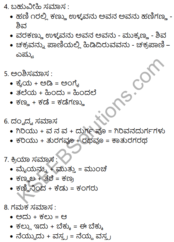 Siri Kannada Text Book Class 10 Solutions Gadya Chapter 5 Edege Bidda Akshara 9