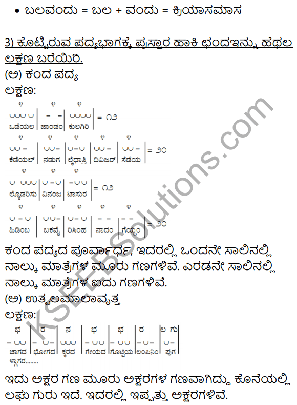 Siri Kannada Text Book Class 10 Solutions Gadya Chapter 7 Vruksha Sakshi 12