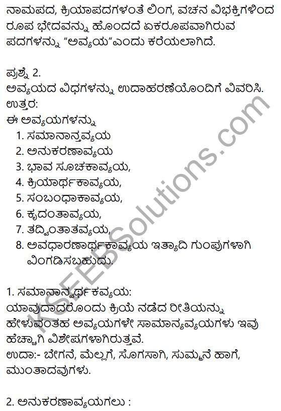 Siri Kannada Text Book Class 10 Solutions Padya Chapter 2 Hakki Harutide Nodidira 9
