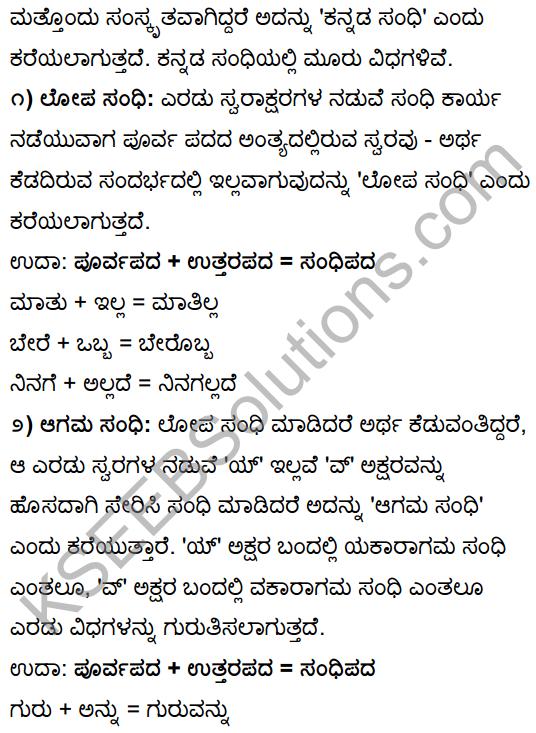 Tili Kannada Text Book Class 10 Solutions Gadya Chapter 1 Ona Marada Gili 19