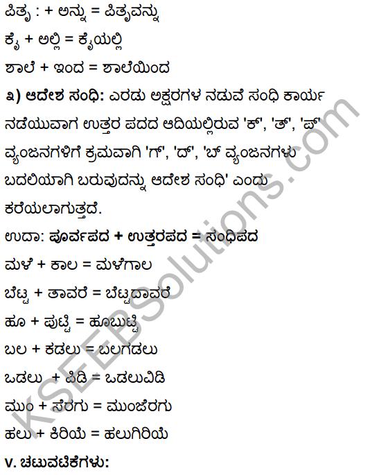 Tili Kannada Text Book Class 10 Solutions Gadya Chapter 1 Ona Marada Gili 20
