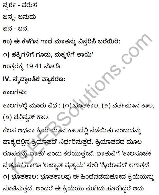 Tili Kannada Text Book Class 10 Solutions Gadya Chapter 4 Hakkigudugala Nigudha Jagattu 11