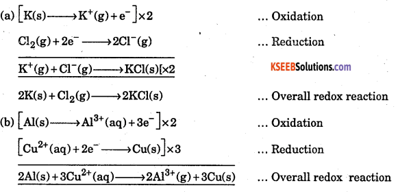 1st PUC Chemistry Question Bank Chapter 8 Redox Reactions - 33