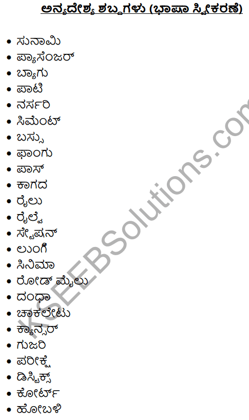 1st PUC Kannada Workbook Answers Nanartha Padagalu 4