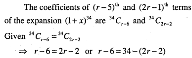 1st PUC Maths Question Bank Chapter 8 Binomial Theorem 42