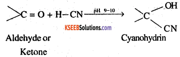 2nd PUC Chemistry Question Bank Chapter 12 Aldehydes, Ketones and Carboxylic Acids - 1