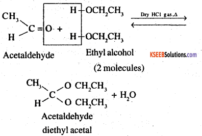 2nd PUC Chemistry Question Bank Chapter 12 Aldehydes, Ketones and Carboxylic Acids - 2