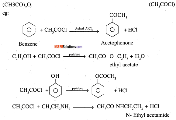 2nd PUC Chemistry Question Bank Chapter 12 Aldehydes, Ketones and Carboxylic Acids - 59