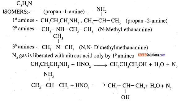 2nd PUC Chemistry Question Bank Chapter 13 Amines - 70